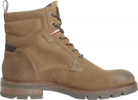 ELEVATED PADDED SUEDE BOOT