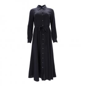 DRESS, FEMININE FLARED, SHIRT DETAI