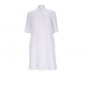 DRESS, SHIRT STYLE, BREAST POCKET,