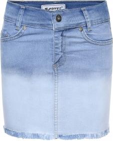3281-Girls High-Waist Skirt
