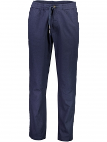 Linen elastic waist pants