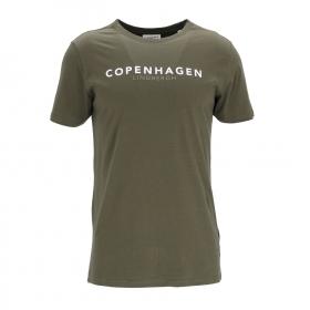 Copenhagen print tee S/S