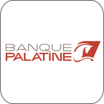 Banque palatine logo ios