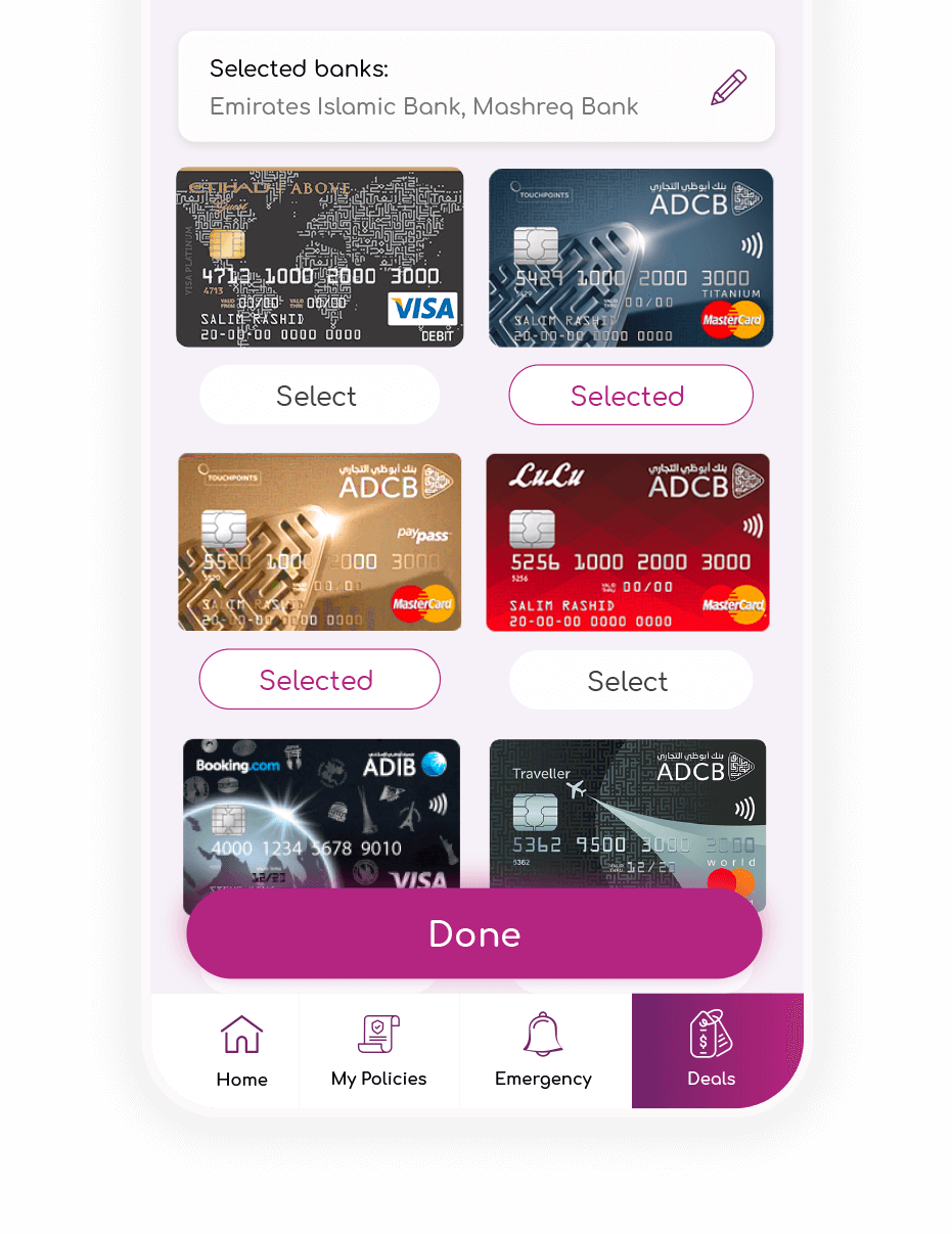 BankOnUs | Mobile App | Deals