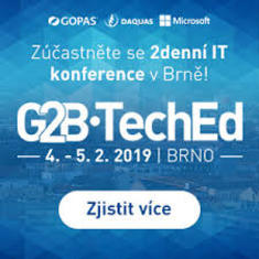 G2B•TechEd 2019 - konference