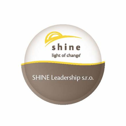 Shine samolepka change white 50x50 leadership