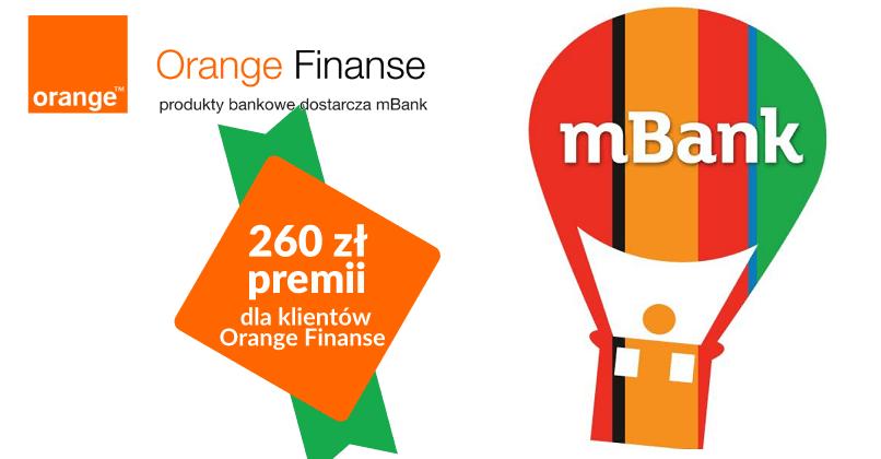 260 Zl Dla Klientow Orange Finanse Od Mbanku