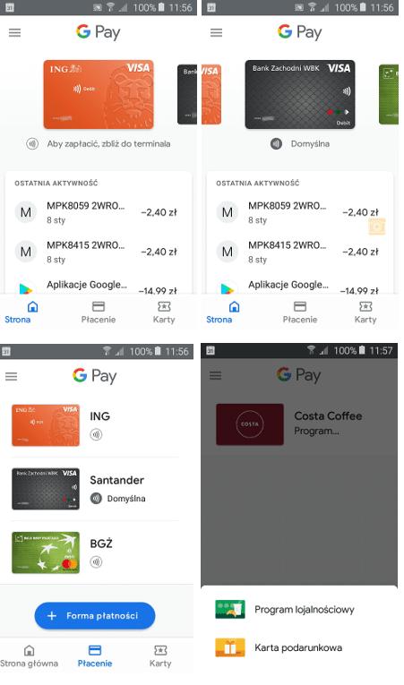 Platnosci Google Pay