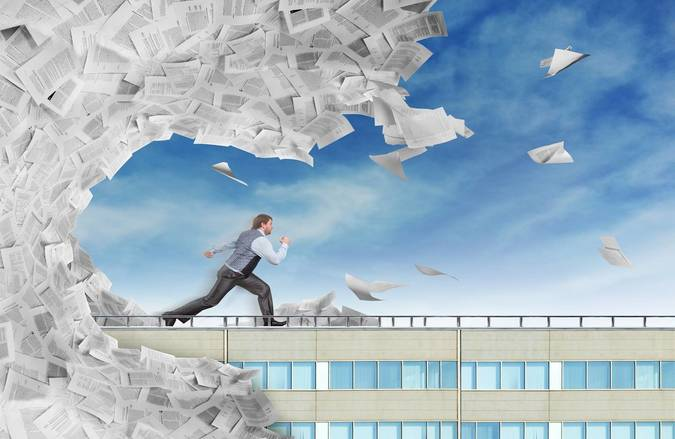 Big electronic document management