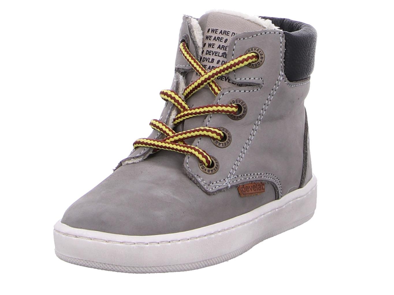 Boys Firststepp Mid Laces Fur