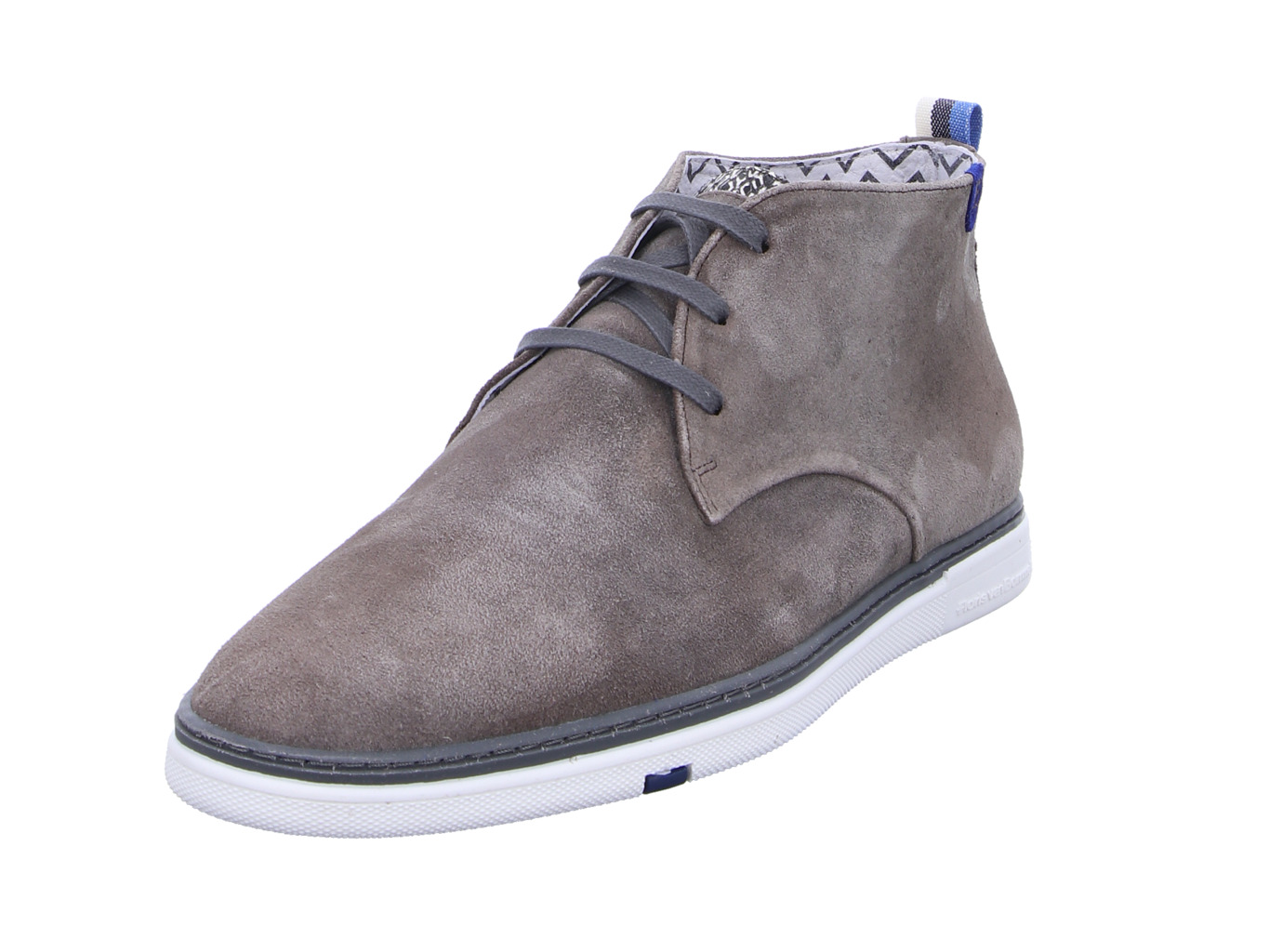 Floris Casual Taupe Suede Taupe