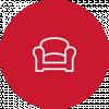 Møbler og innredning til restaurant, hotell og bar