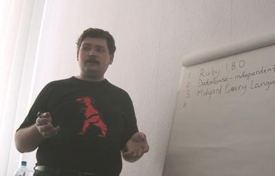 Alexander explains Midgard2 components
