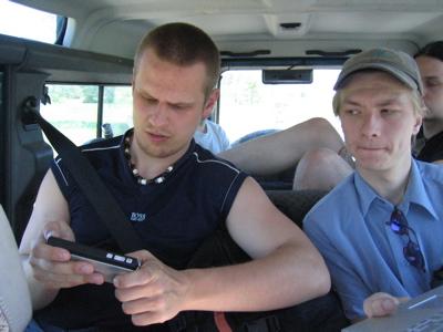 Google Talk on the road