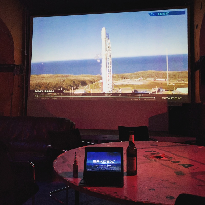 Livestreaming a SpaceX launch