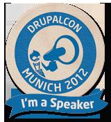 I'm a speaker