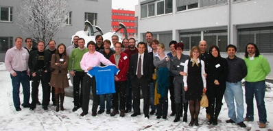 IKS project team in Salzburg