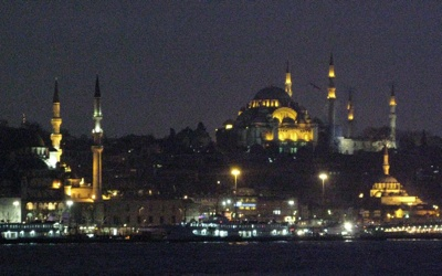 Istanbul Eminönü at Night