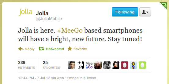 Jolla is here. MeeGo based smartphones will have a bright, new future