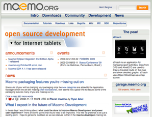 Maemo on Nov 18th