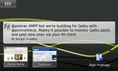 Mauku and Qaiku on the N900