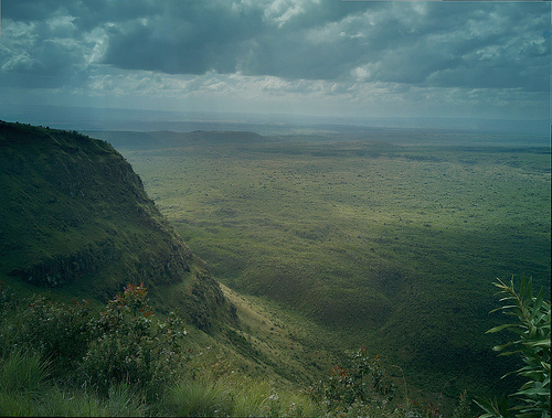 Menengai crater, on N900
