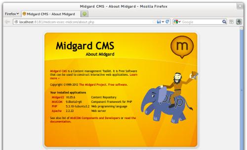 MidCOM on Midgard2