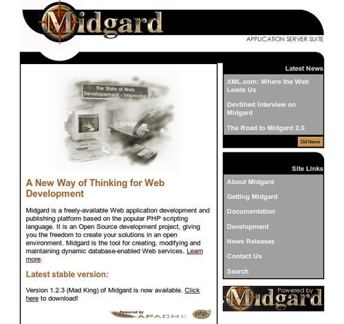 Midgard Project in 1999