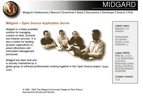 Midgard Project in 2002
