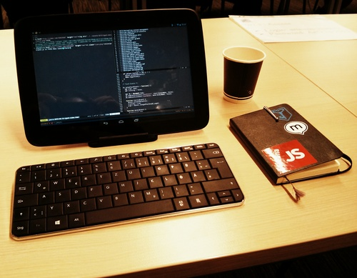 Nexus 10 as a laptop