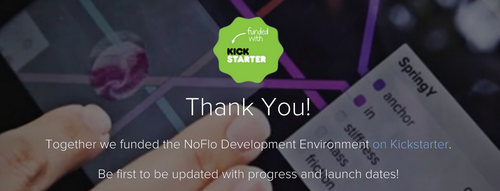 Thanks for supporting NoFlo!