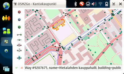 OSM2Go on N810