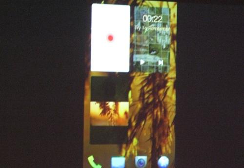 Running apps as widgets