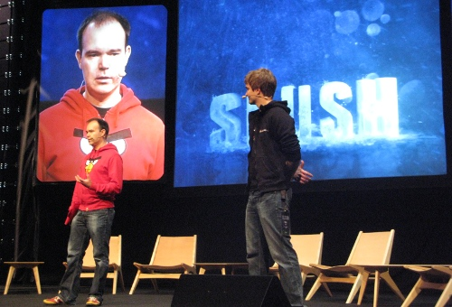 Peter Vesterbacka opening Slush