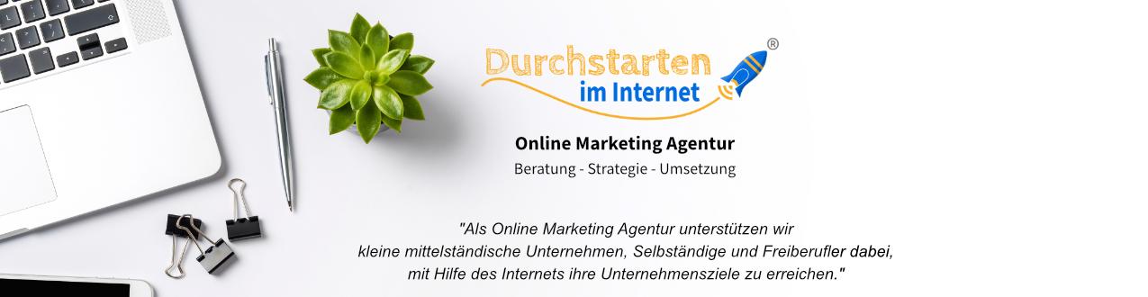 Header durchstarten im internet full service webagentur