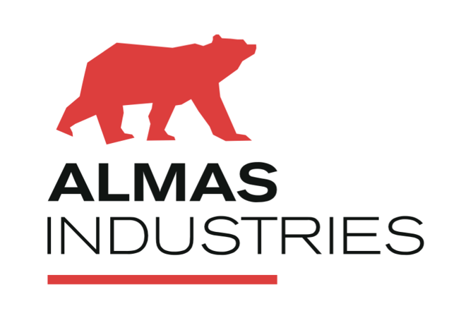 Logo almas industries