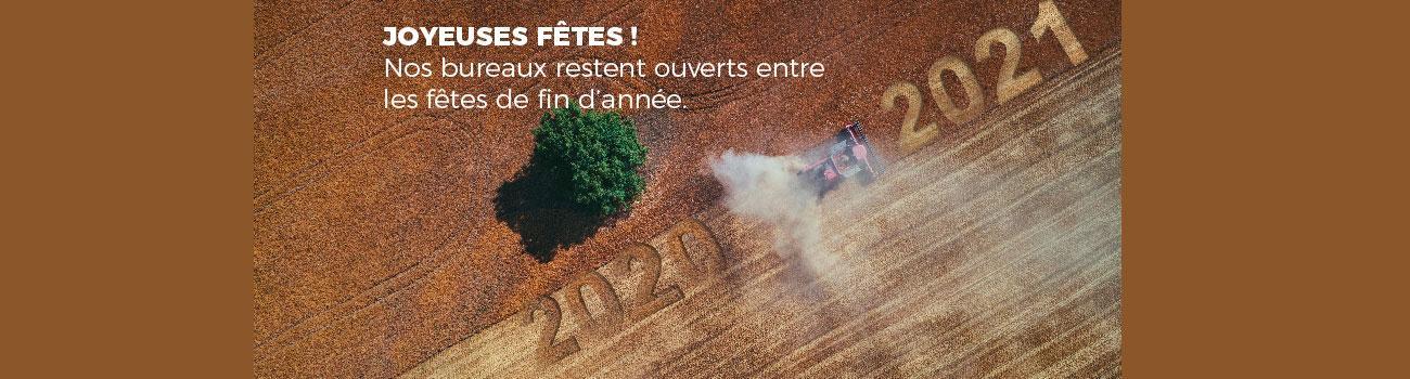 agriculture bonne année 2021