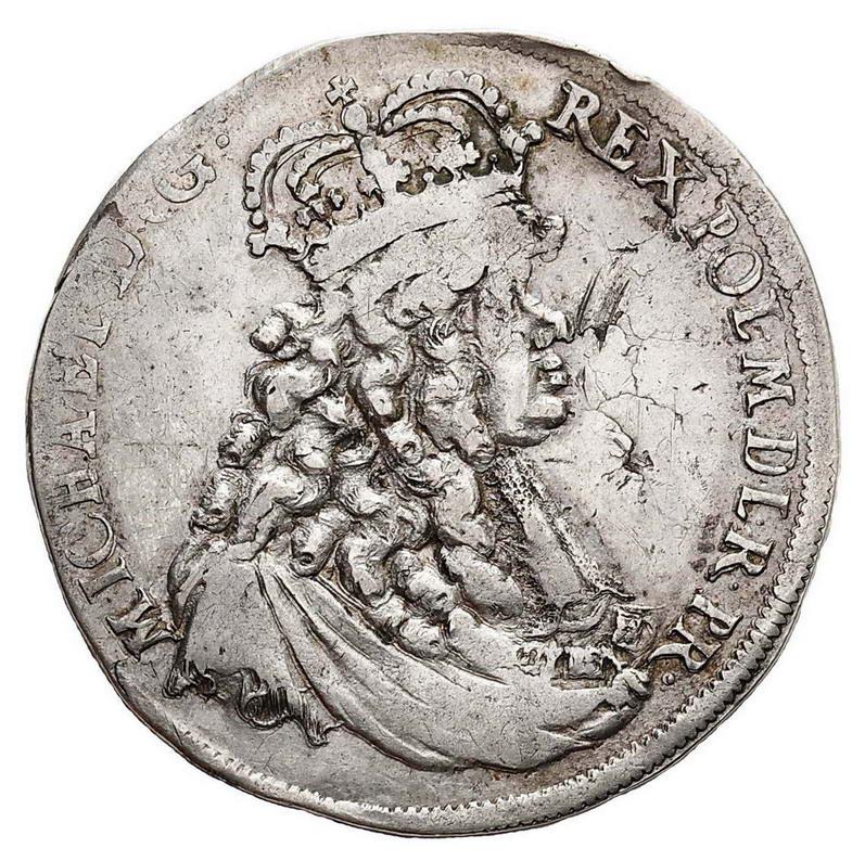 Półtalar 1671, Elbląg