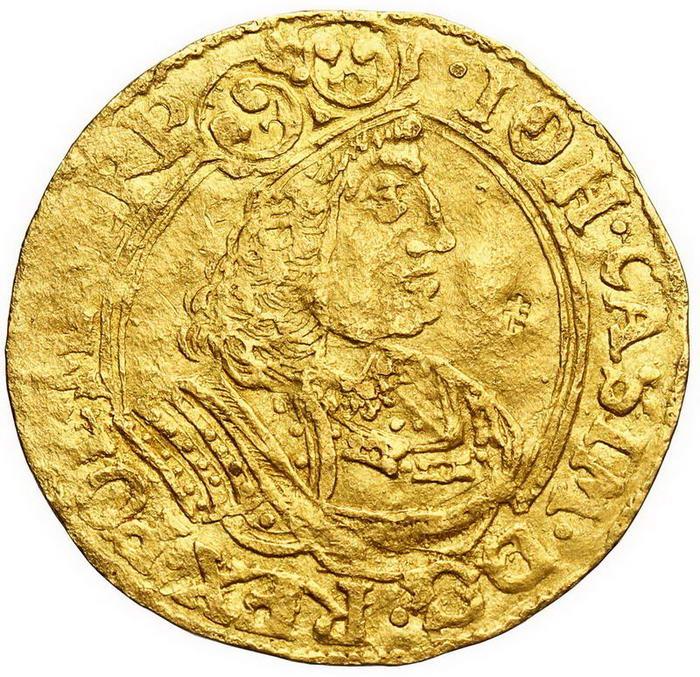 Jan II Kazimierz. Dukat 1658, Elbląg
