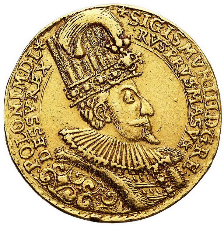 Portugał medalowy wagi 10 dukatów 1588