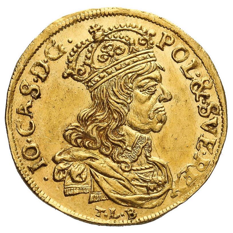 Dukat koronny 1660, Kraków