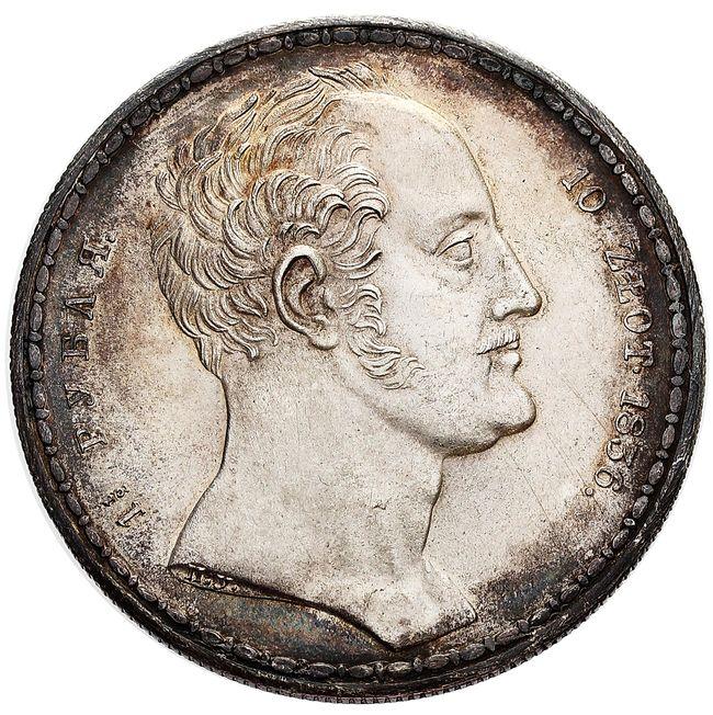 Mikołaj I, Rubel familijny - 10 złotych 1836, Petersburg