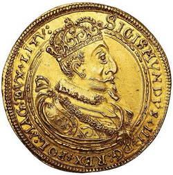 Zygmunt lll Waza. Półportugał 1621 H-T, Wilno