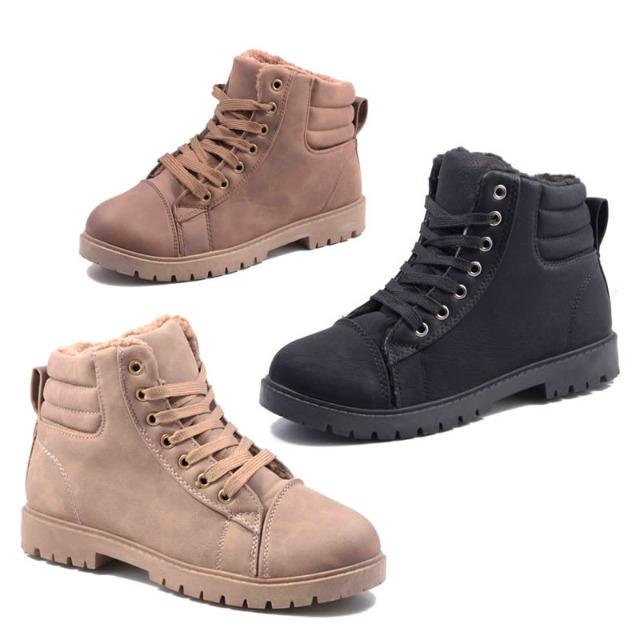 damen herbst winter stiefel schuhe boots auf. Black Bedroom Furniture Sets. Home Design Ideas