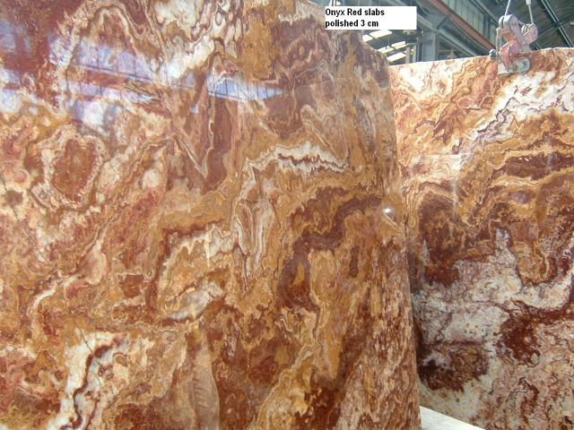 Onyx red marble