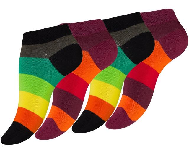 Gute Laune Socken im 4er Pack!