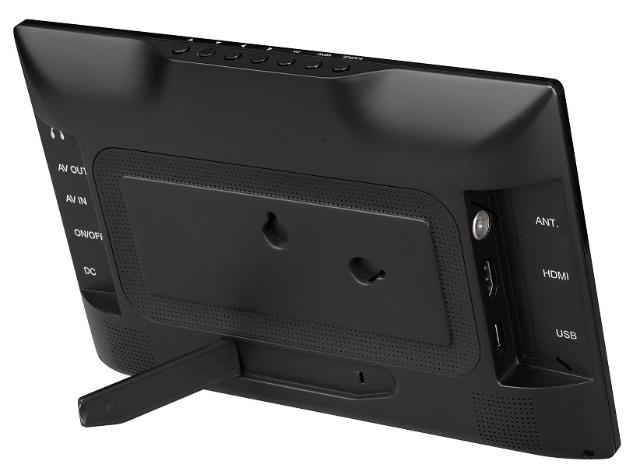 denver 1031 tragbarer 10 1 zoll led tv fernseher dvb t2 usb mediaplayer mit akku auf. Black Bedroom Furniture Sets. Home Design Ideas