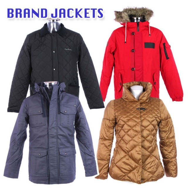 BRAND MIX women and men jackets