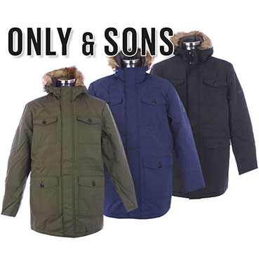 ONLY & SONS jackets for men