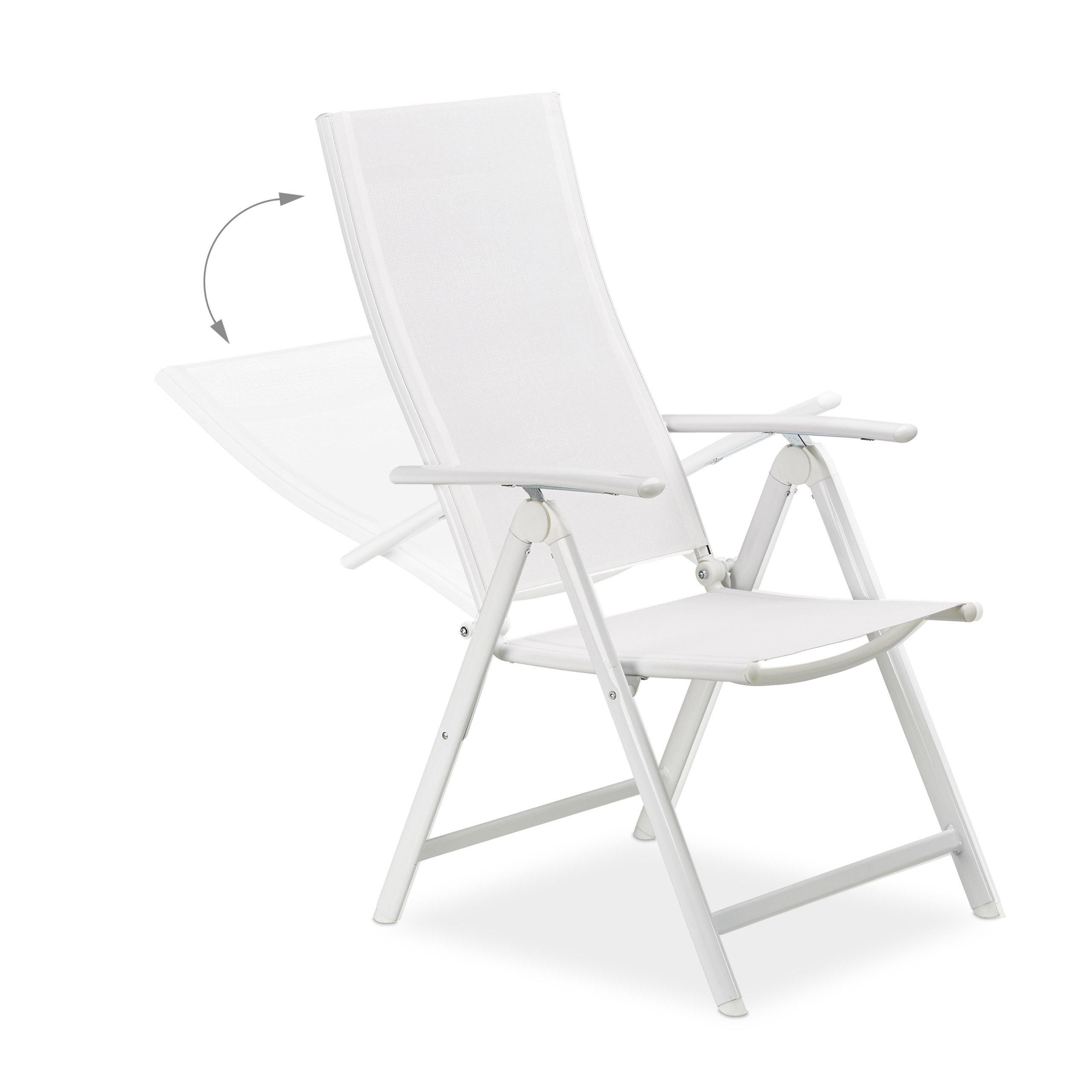 gartenstuhl alu klappbar auf. Black Bedroom Furniture Sets. Home Design Ideas